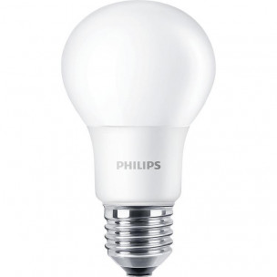 8718696577554 Philips LED lamp E27 8W 2700K Mat A+ Niet dimbaar