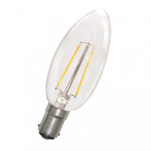 8714681351079 Bailey LED Kaarslamp Ba15d 1.8W 2700K