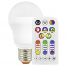 Müller LED lamp E27 7W/RGBW incl. afstandsbediening
