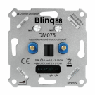 Duo Dimmer LED 230V 2x 3-75W Fase Afsnijding